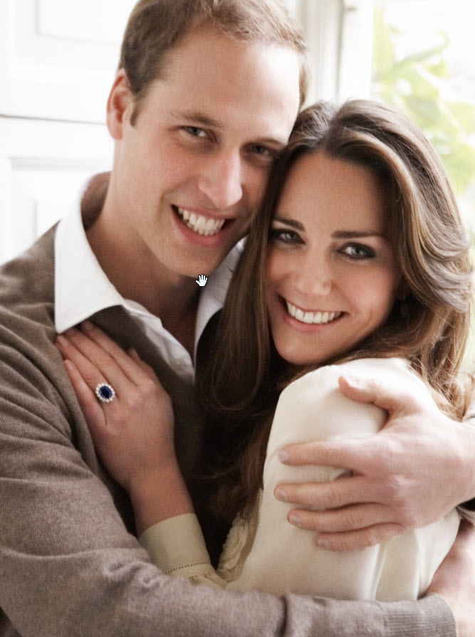 Kate and Prince William by Mario Testino