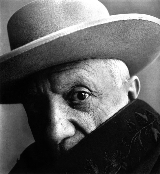 Irving Penn, photo de Picasso, 1957