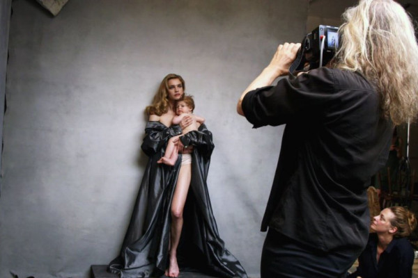 Annie Leibovitz, photographe, production Pïrelli 2016