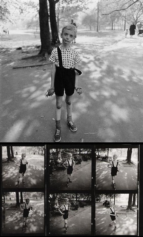 Dianne Arbus - Child with a Toy Hand Grenade in Central Park (1962)